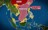 رویارویی خطرناک چین و آمریکا در دریای جنوبی