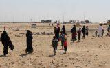 باجگیری ۷۰۰ دلاری داعش از غیرنظامیان برای خروج از مناطق تحت اشغال خود