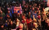 تظاهرات اسرائیلیها در انتقاد به سیاستهای امنیتی نتانیاهو