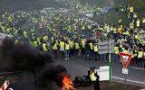 ستاد حقوق بشر ایران سرکوب مردم فرانسه را محکوم کرد