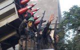 مقاومت فلسطین موشکهای خود را به رخ صهیونیستها کشید + عکس
