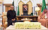 رئیس جمهوری پاکستان با پادشاه عربستان دیدار کرد