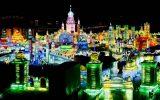 تصاویری از طراحی زیبای شهر یخی در هاربین چین