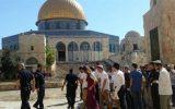 یورش صهیونیستها به کرانه باختری و مسجدالاقصی