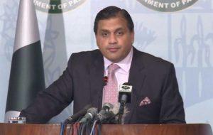 پاکستان مخالف تحریم های یکجانبه آمریکا علیه ایران است
