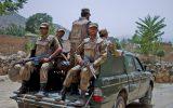 ۶ تن از نیروهای امنیتی پاکستان در حمله افراد ناشناس به ایست بازرسی کشته شدند