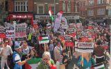 به رغم فشار دولت ها، فریاد همبستگی با فلسطین در اروپا ادامه دارد