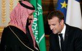 گفتوگوی تلفنی ولیعهد عربستان و رئیس جمهوری فرانسه