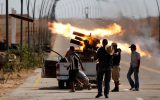 حملات توپخانهای تروریستها به سراقب