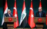 رایزنی نخست وزیر عراق و اردوغان در خصوص بازسازی مناطق آسیب دیده در جنگ با داعش