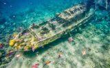 کشتی های غرق شده، یادگاری از جنگ های متمادی در اعماق اقیانوس