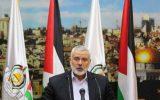 هنیه: همکاری مجدد تشکیلات خودگردان با اسرائیل مانع اصلی تحقق آشتی است