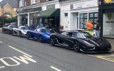 تجمع خودرو های سوپرلوکس در انگلیس