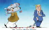کاریکاتور/ پشت پرده حمایت آمریکا از جنایات آل سعود