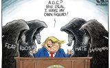 کاریکاتور/ مشاوران ترامپ برای انتخابات ۲۰۲۰