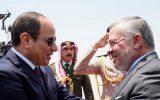 رایزنی سیسی و عبدالله دوم درباره تلاش ها برای احیای مذاکرات صلح خاورمیانه