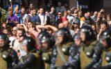 درخواست عفو بینالملل برای توقف نظامیگری پلیس آمریکا علیه معترضان