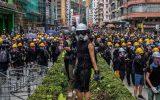 تداوم اعتراضات خشونت آمیز و سازماندهی شده آشوبگران هنگ کنگ