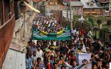 تظاهرات گسترده مردم پاکستان در روز همبستگی با کشمیر