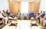 رایزنیهای دفاعی-امنیتی فرمانده ارتش پاکستان در دوحه با مقامهای قطری