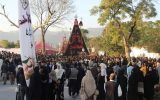 برگزاری مراسم سوگواری امام حسین در پاکستان