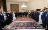 فراخوان رئیسجمهور لبنان به بیداری در مقابله با «معامله قرن»