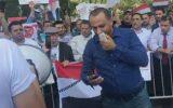 تظاهرات خانوادههای اسیر اردنی در بند رژیم صهیونیستی