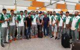 تیم والیبال پاکستان برای رقابت های قهرمانی آسیا عازم ایران شد