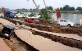 رانش زمین ۱۲ تن را در اندونزی به کام مرگ برد