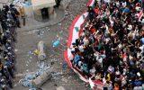 درگیری تظاهرکنندگان و نیروهای امنیتی در اطراف پارلمان لبنان