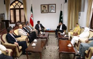 سفیر ایران در چین از دیدار با همتای پاکستانی خود خبر داد