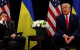 حذف سوالبرانگیز یک جمله از متن مکالمه ترامپ با رئیسجمهور اوکراین