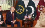رایزنی فرمانده ارتش پاکستان با «خلیلزاد»؛ درامور صلح افغانستان