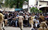 پنج کشته و دهها زخمی در تظاهرات علیه حضور نخستوزیر هند در بنگلادش