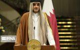گفتگوی امیر قطر و همتای کویتی وی در مورد مسائل منطقهای و بین المللی