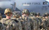 تصاویر | اولین گروه از چتربازان آمریکایی عازم کویت شدند