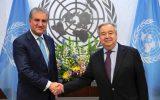پایان سفر دبیرکل سازمان ملل به پاکستان و تاکید بر محترم شمردن حقوق مردم کشمیر