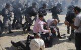 سرکوب وحشیانه تظاهرات فلسطینیها در کرانه باختری/ ۳۲ فلسطینی زخمی شدند