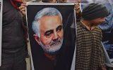 مراسم گرامیداشت شهیدان سلیمانی و المهندس در کربلای معلی