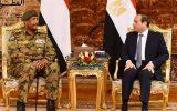 برگزاری رزمایش مشترک نیروی هوایی مصر و سودان