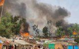 بیسرپناه شدن ۹۹۴ تن پس از آتشسوزی اردوگاه آوارگان «شاریا» در شمال عراق