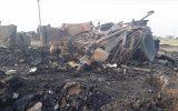 بازار قدیمی موصل در آتشسوزی به خاکستر تبدیل شد
