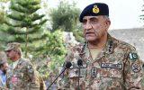 حضور سرزده فرمانده ستاد ارتش پاکستان در مرزهای مشترک این کشور با افغانستان