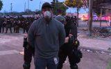 پلیس بروکسل ۱۱۶ معترض به مرگ یک سیاهپوست را بازداشت کرد