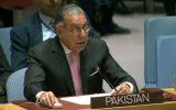 نماینده پاکستان در سازمان ملل: کشورهای جهان به بهانه منافع اقتصادی حاضر به دفاع از مسلمانان کشمیر نیستند