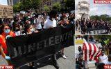 اعتراض مسلمانان هندی ساکن آمریکا به وضعیت وخیم مردم کشمیر