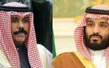 دیدار بن سلمان و امیر قطر پس از نشست شورای همکاری خلیج فارس