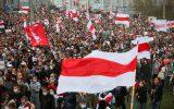 برگزاری اعتراضات ضدلوکاشنکو در پایتختهای اروپا در روز همبستگی