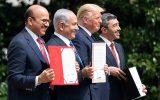 نشست سهجانبه وزرای خارجه بحرین و آمریکا با نتانیاهو