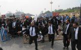 تظاهرات ضدفرانسوی حقوقدانان پاکستان و محکومیت شارلیابدو